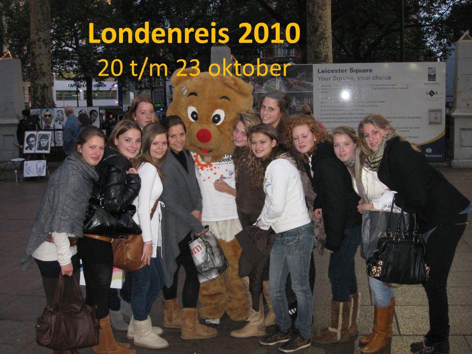 Londenreis 2010 20 t/m 23 oktober