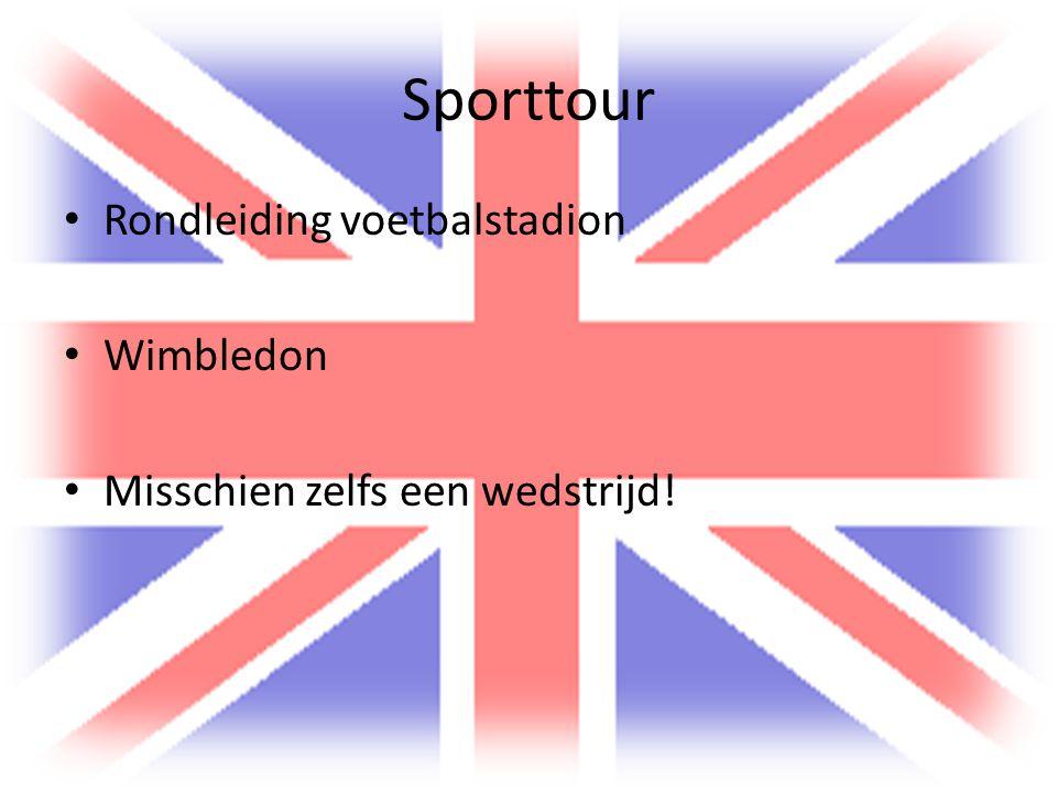 Sporttour Rondleiding voetbalstadion Wimbledon Misschien zelfs een wedstrijd!