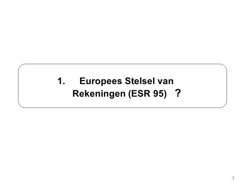 Rekeningen ESR 95 .