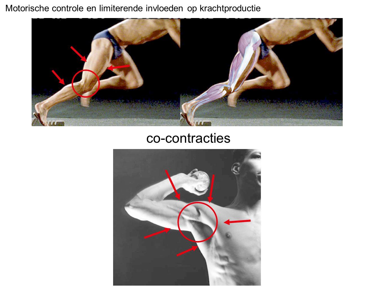 Motorische controle en limiterende invloeden op krachtproductie co-contracties