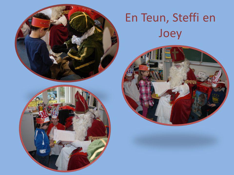 En Teun, Steffi en Joey