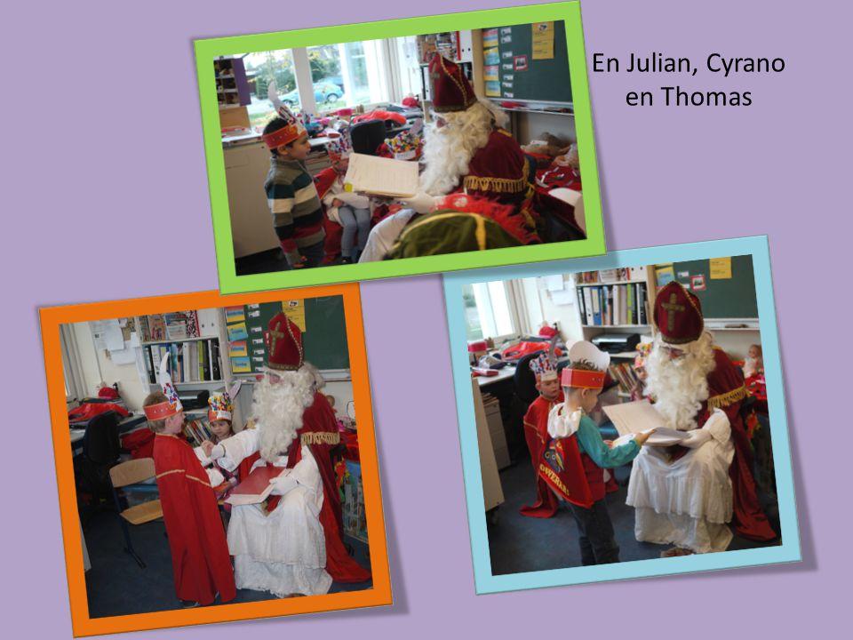 En Julian, Cyrano en Thomas