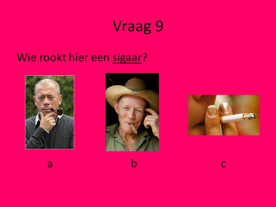 Vraag 8 Welk plaatje past bij ivoor? a b c