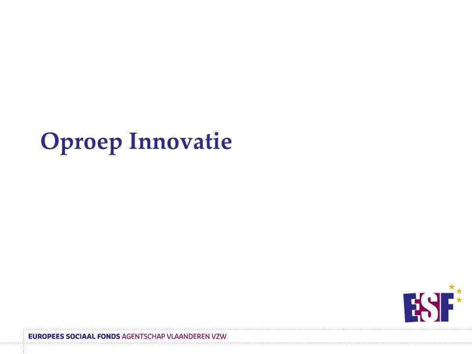 Oproep Innovatie