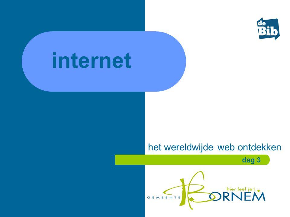 internet het wereldwijde web ontdekken dag 3