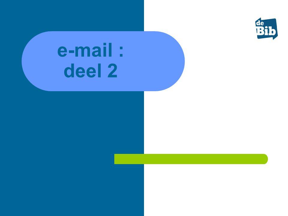 e-mail : deel 2