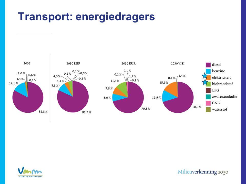 Transport: energiedragers
