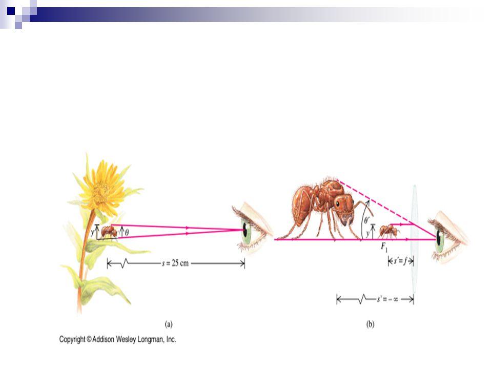 Ouderdomspresbyopie Accomodatievermogen oog vermindert met de leeftijd: het nabijheidspunt >25 cm.