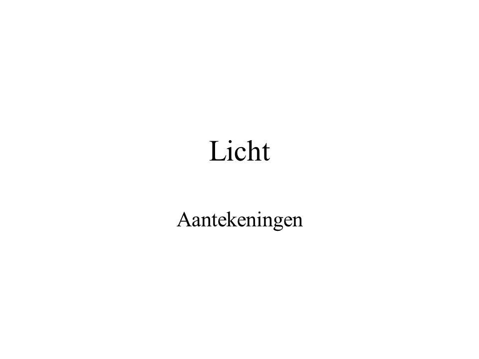 Je kunt iets zien als… Er licht op een voorwerp valt, Dat voorwerp licht weerkaatst, Het weerkaatste licht in je ogen valt.