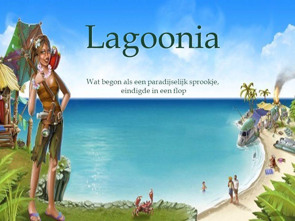 Lagoonia Wat begon als een paradijselijk sprookje, eindigde in een flop eindigde in een flop