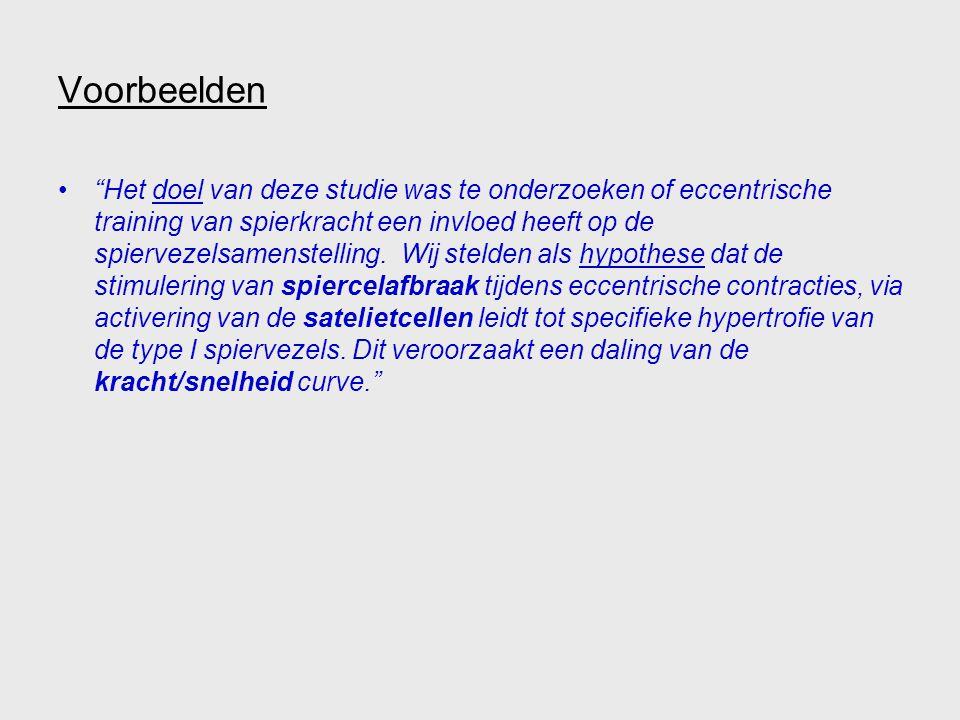 Stuctuur van de inleiding EERSTE PARAGRAAF ALGEMENE SITUERING ONDERZOEKSVRAAG KERNGEDEELTE SPECIFIEKE SITUERING ONDERZOEKSVRAAG 'Verkopen' doel/hypothese in 1 à 3 paragrafen LAATSTE PARAGRAAF DOEL en HYPOTHESE