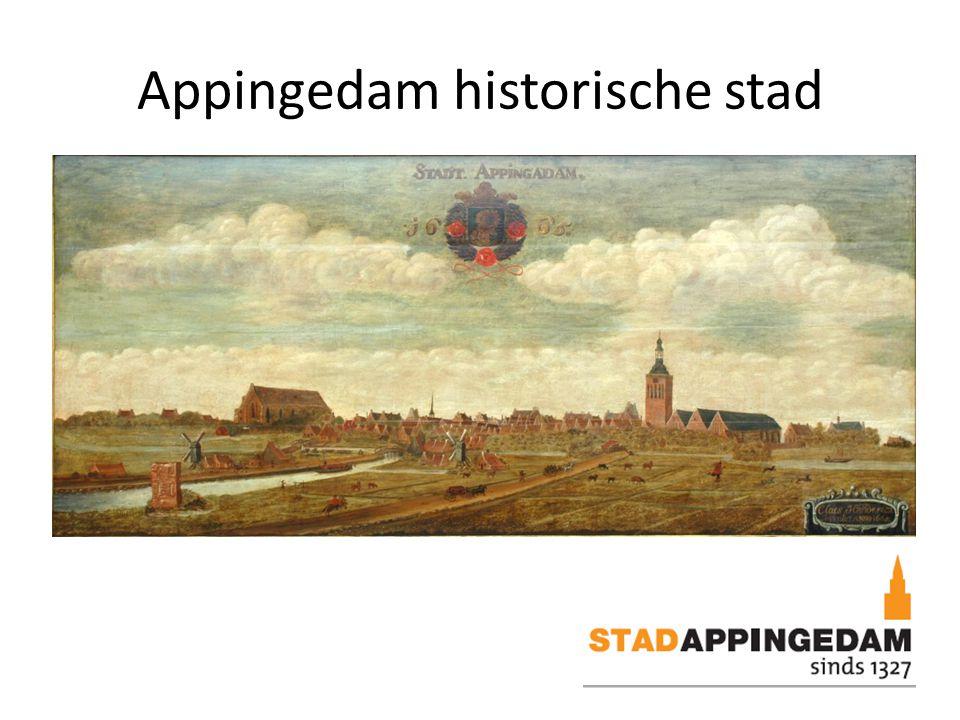 Appingedam historische stad