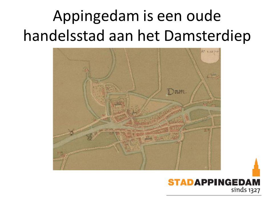 Appingedam is een oude handelsstad aan het Damsterdiep