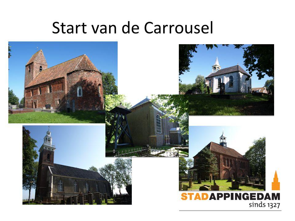 Start van de Carrousel
