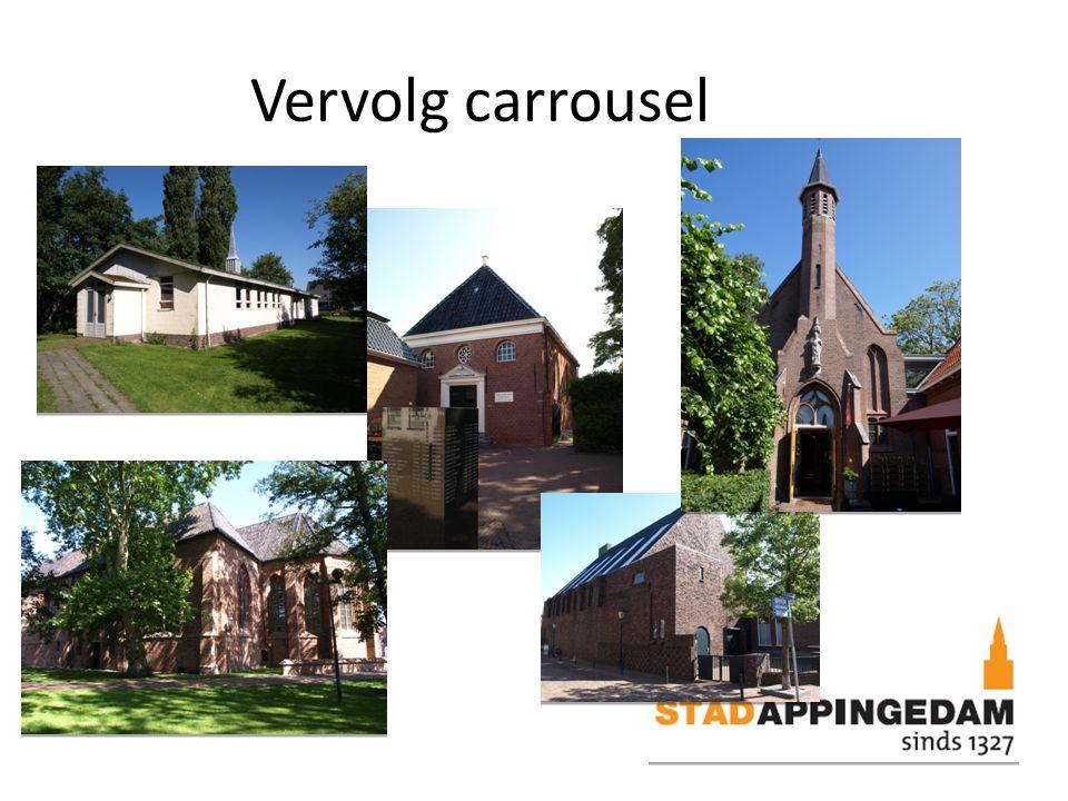 Succesfactoren carrousel Heldere visie waarbij cultuurhistorie structureel is verankerd in lokaal beleid.