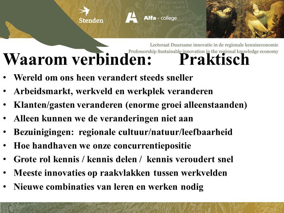 Samenwerken: Wat zeggen andere experts daarover.21 april 2012, pag.