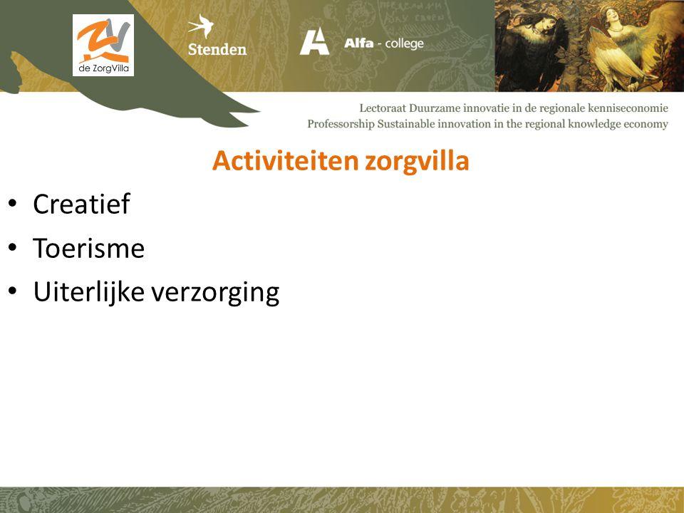 Activiteiten zorgvilla Creatief Toerisme Uiterlijke verzorging