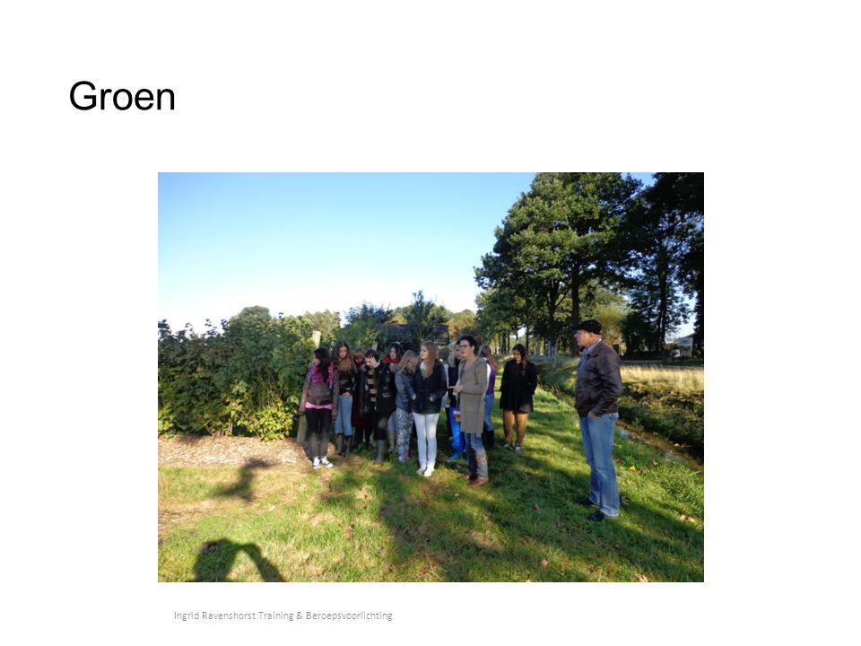 Doel bedrijfsbezoeken Leerlingen kennis laten maken met 'de praktijk' Ingrid Ravenshorst Training & Beroepsvoorlichting