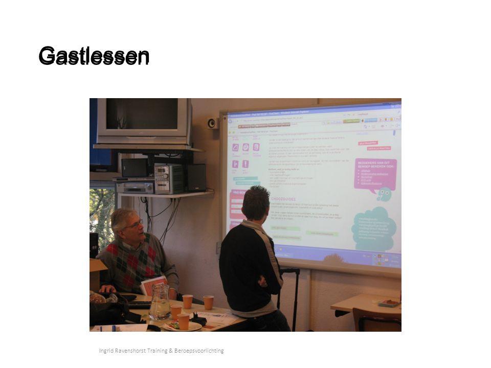 Gastlessen Ingrid Ravenshorst Training & Beroepsvoorlichting Gastlessen