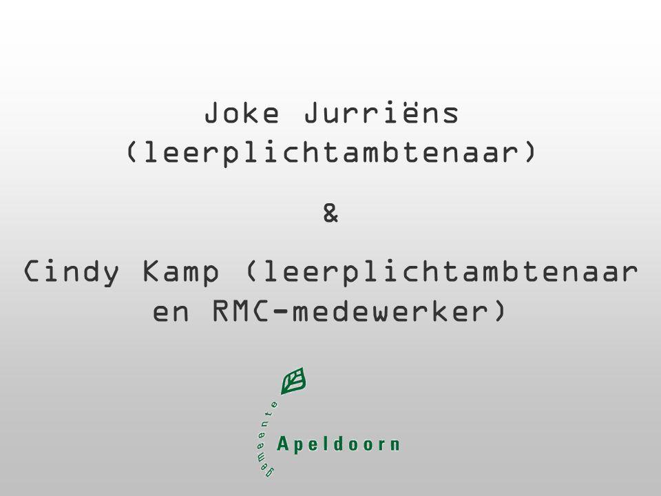 Joke Jurriëns (leerplichtambtenaar) & Cindy Kamp (leerplichtambtenaar en RMC-medewerker)
