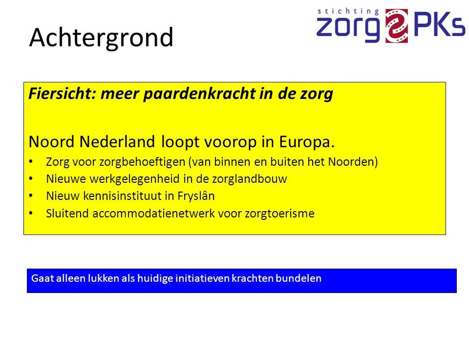 Fiersicht: meer paardenkracht in de zorg Noord Nederland loopt voorop in Europa.