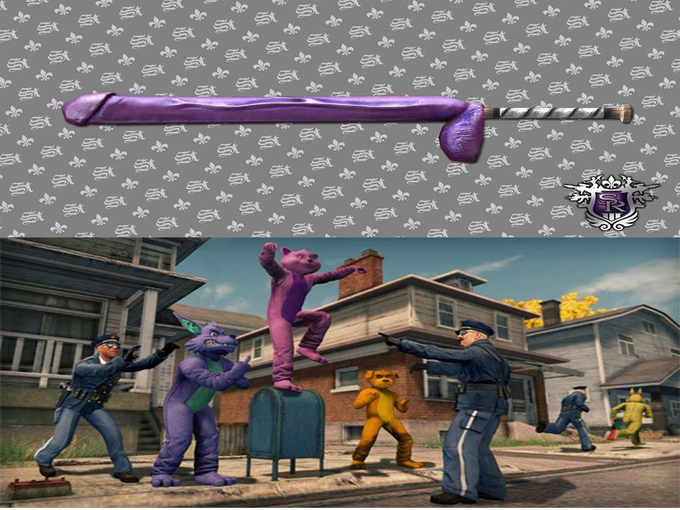 Verschillen met concurrentie Bizarre wapens als dildo's en gigantische vuisten.