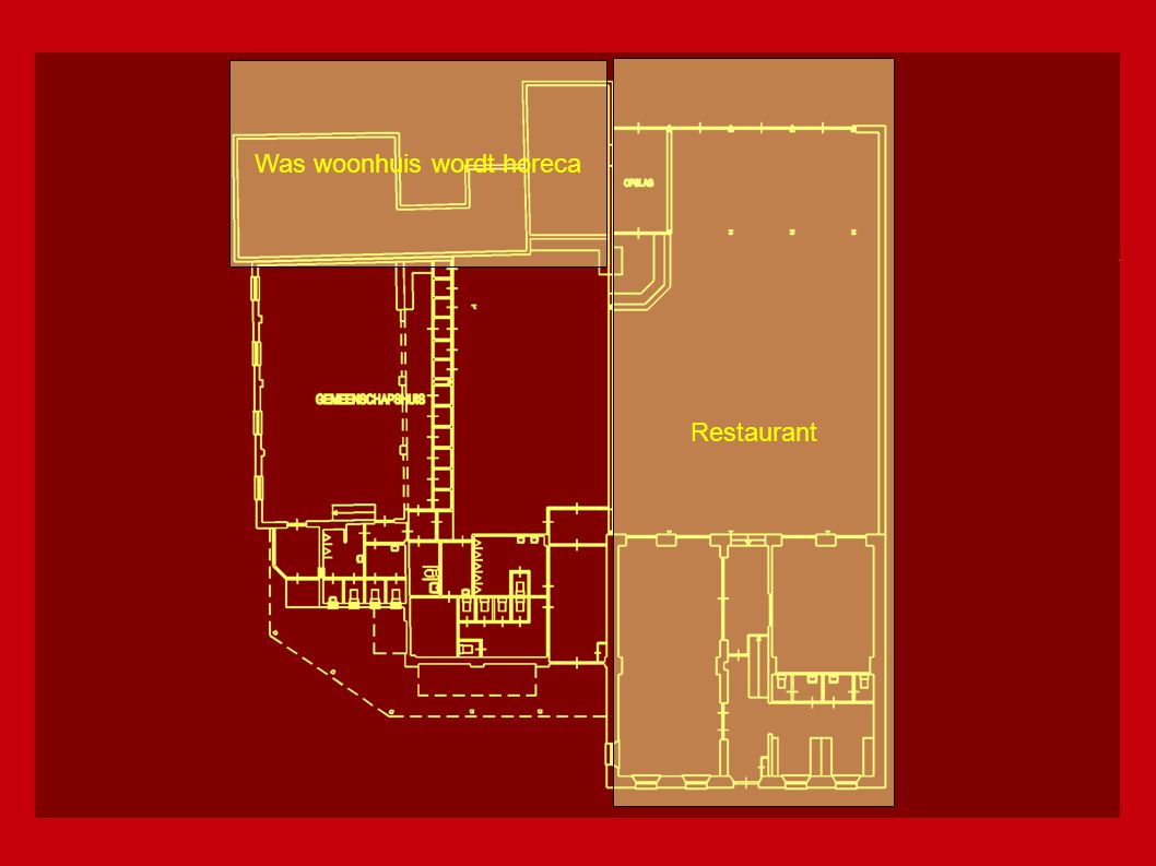 Restaurant Horeca Gemeenschapsaccomodatie € 658.000