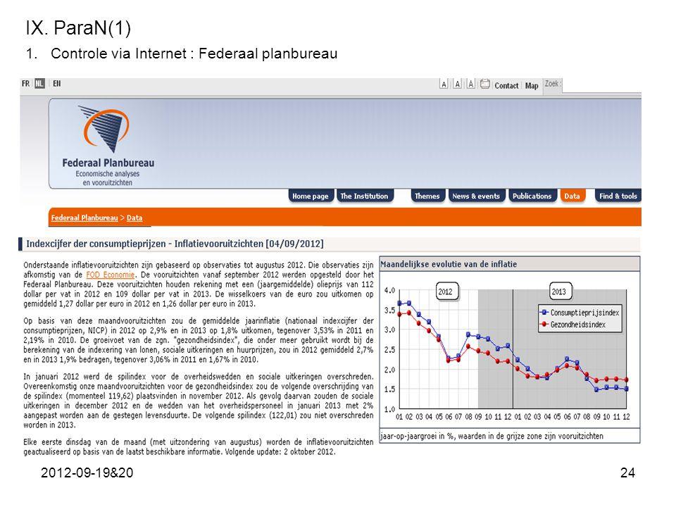 2012-09-19&2024 IX. ParaN(1) 1.Controle via Internet : Federaal planbureau
