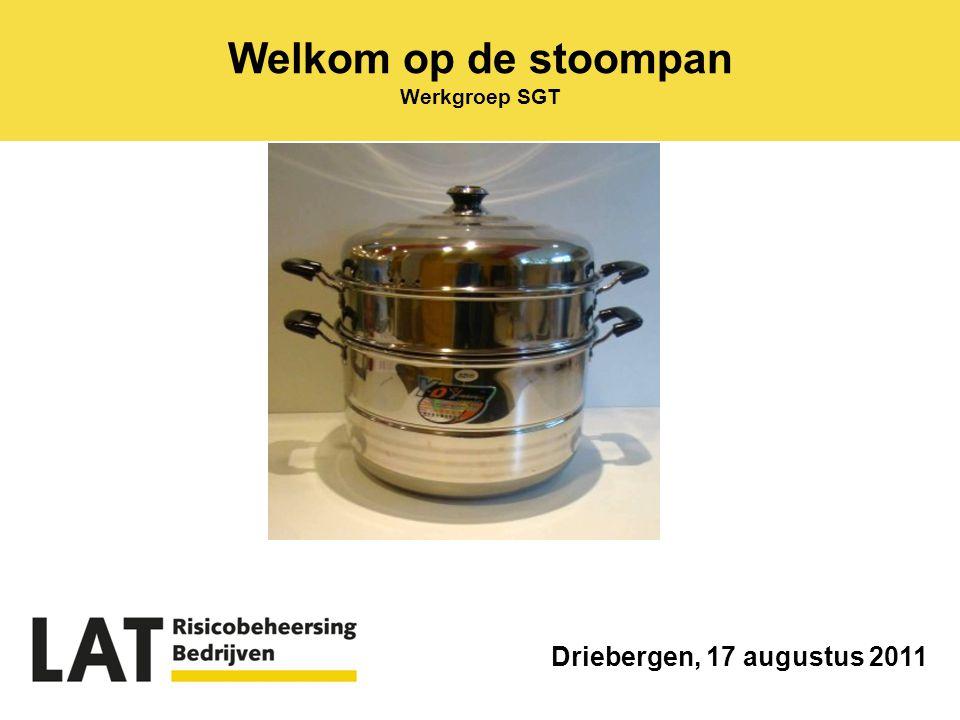 Welkom op de stoompan Werkgroep SGT Driebergen, 17 augustus 2011