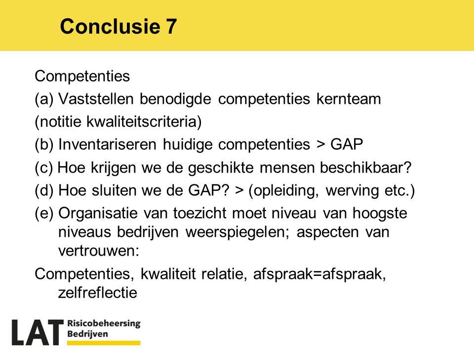 Competenties (a) Vaststellen benodigde competenties kernteam (notitie kwaliteitscriteria) (b) Inventariseren huidige competenties > GAP (c) Hoe krijgen we de geschikte mensen beschikbaar.