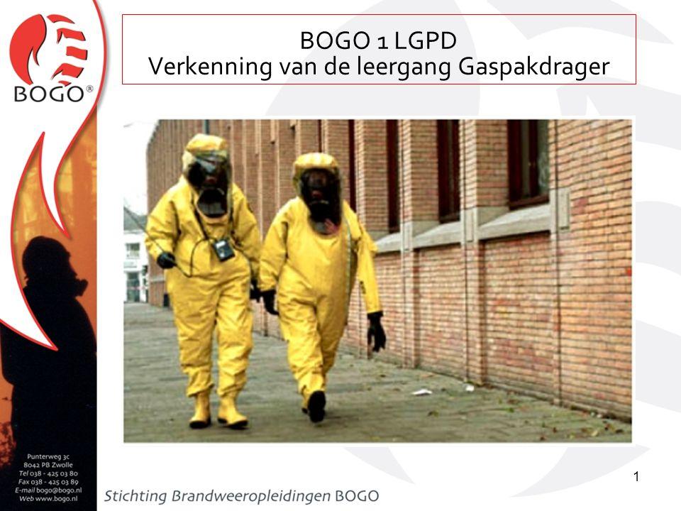 Les 36a leergang bevelvoerder (auteur: F. van de Wetering) BOGO 1 LGPD Verkenning van de leergang Gaspakdrager 1