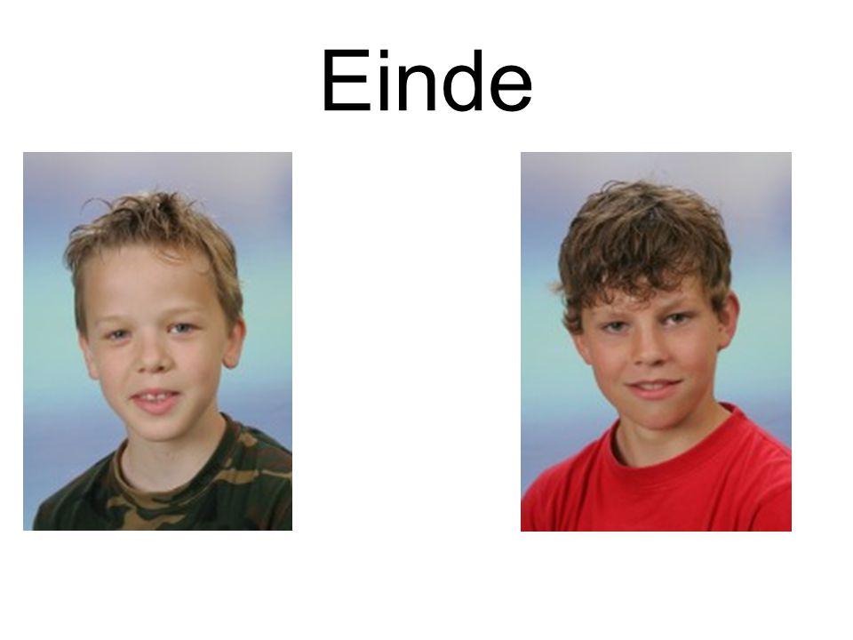 Einde Sander en Ruben Maters Gemaakt door: