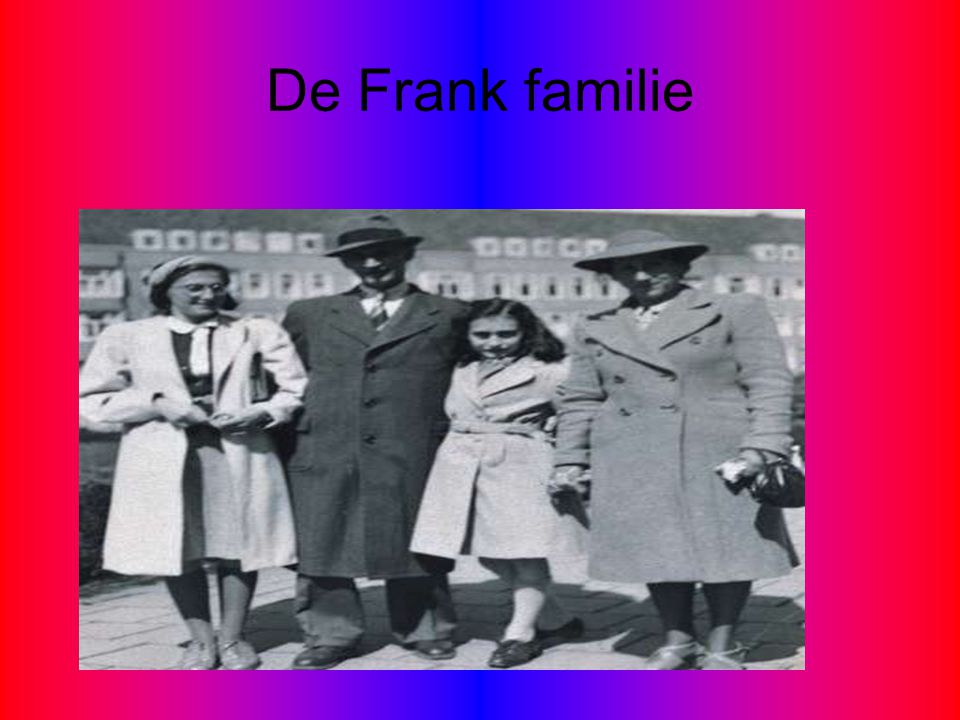 De Frank familie