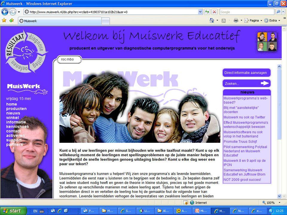 website Muiswerk communiceert Muiswerknieuws