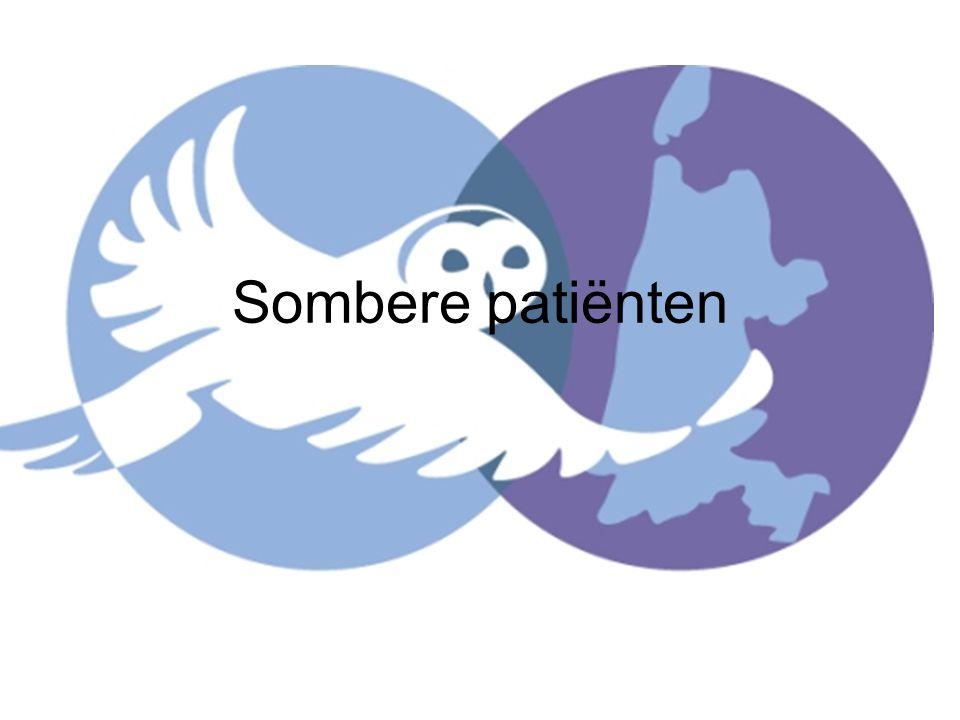 Sombere patiënten
