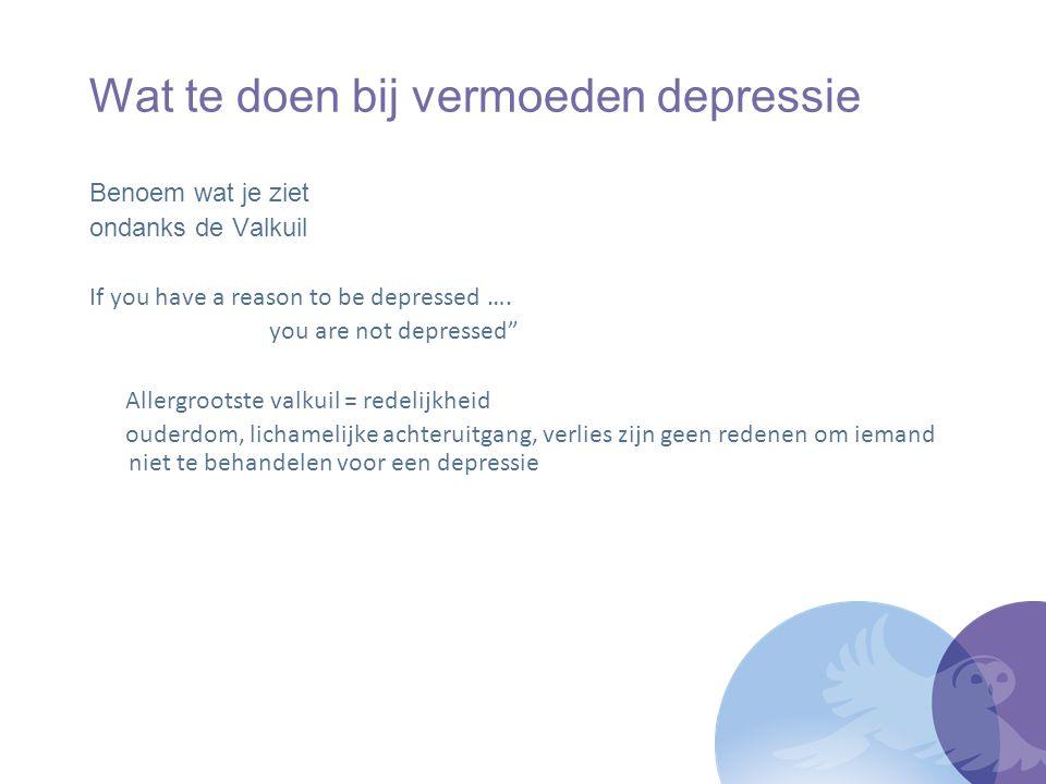 Levenslust voor depressieve, ouderen de herkenning, zorg en behandeling in de eerste lijn verbeteren door middel van schotloze, stapsgewijze aandacht in de vorm van eenvoudige maar effectieve interventies op maat