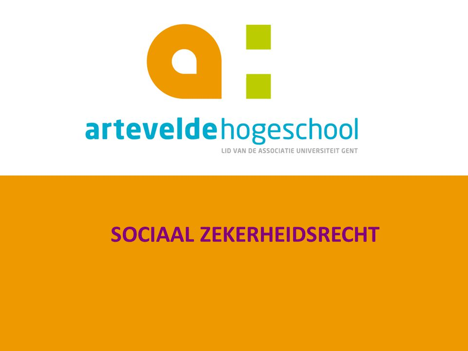 Academiejaar 2013-2014 Sociaal Recht 212 1.5.