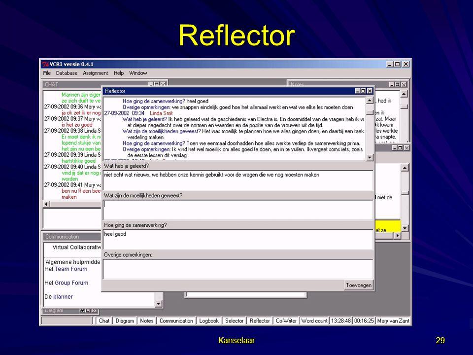 Kanselaar 29 Reflector