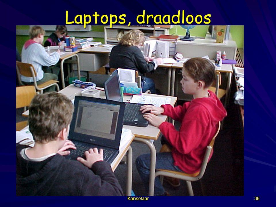 Kanselaar 38 Laptops, draadloos