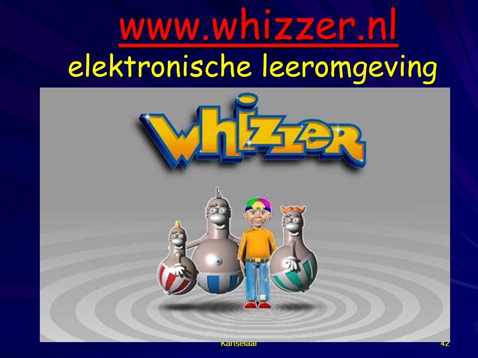 Kanselaar 42 www.whizzer.nl elektronische leeromgeving www.whizzer.nl elektronische leeromgevingwww.whizzer.nl