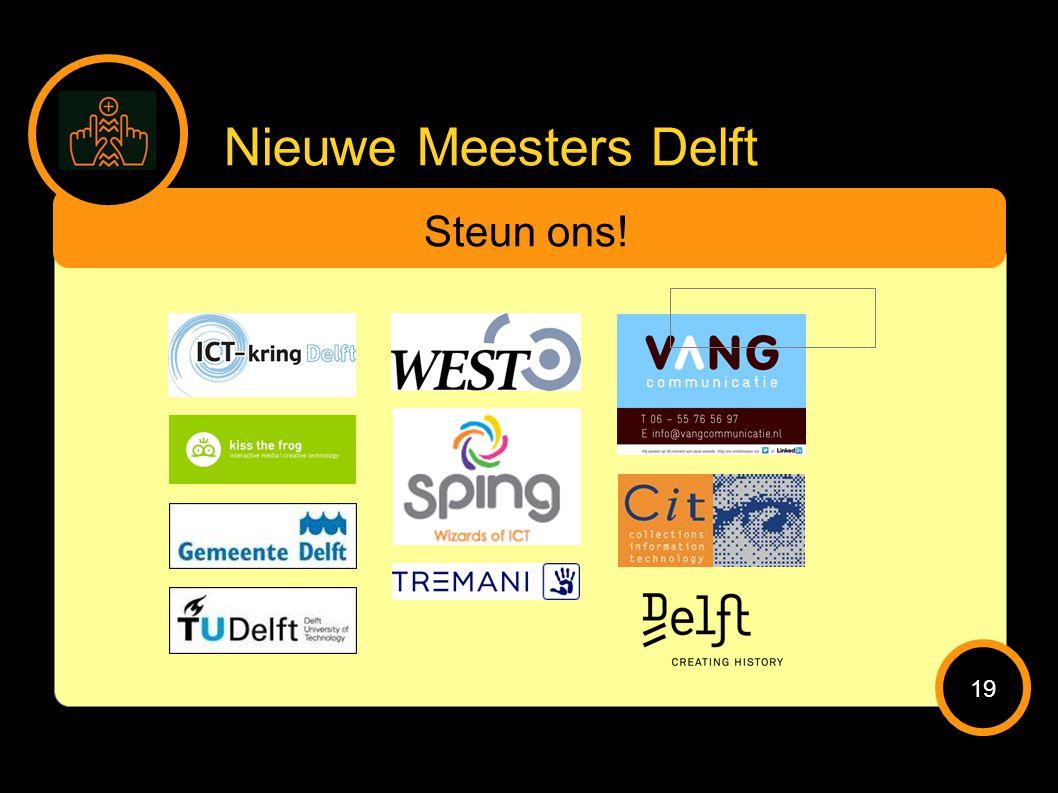 Nieuwe Meesters Delft Steun ons! 19