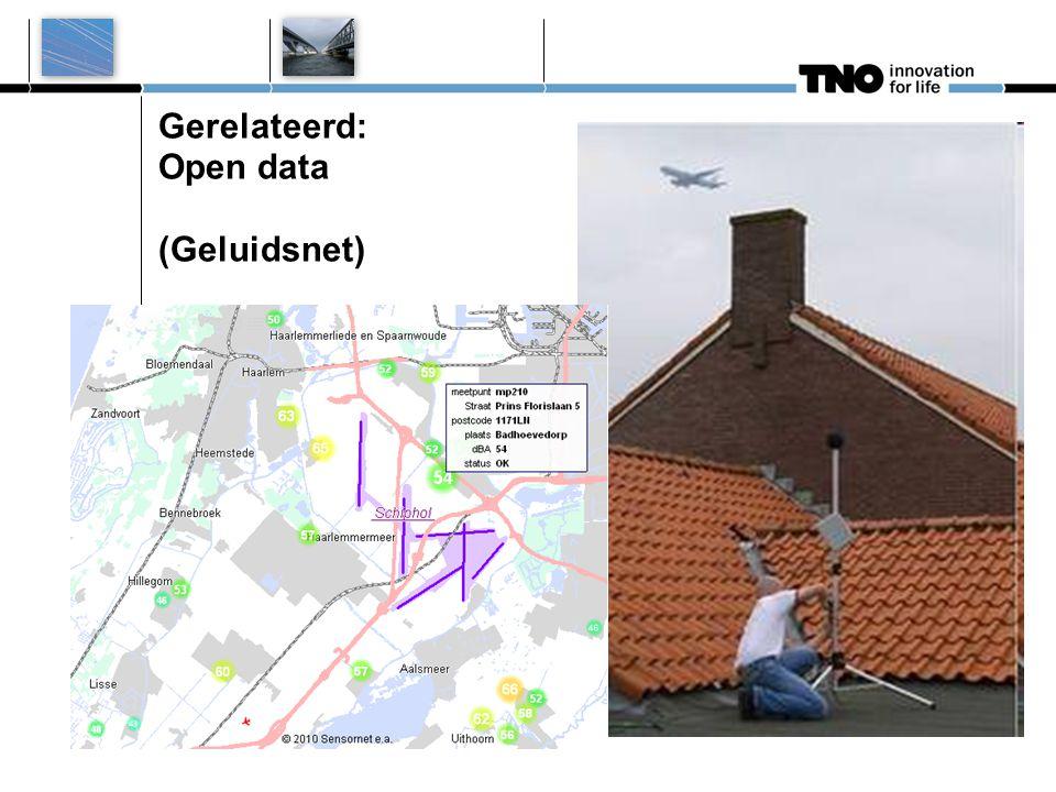 Gerelateerd: Open data (Geluidsnet)