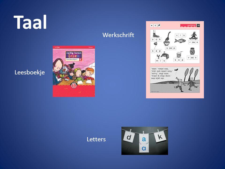 Taal Leesboekje Werkschrift Letters