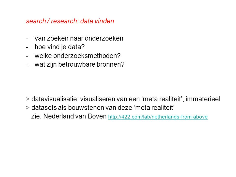 betrouwbaarheid?.validatie: zijn de bronnen betrouwbaar.