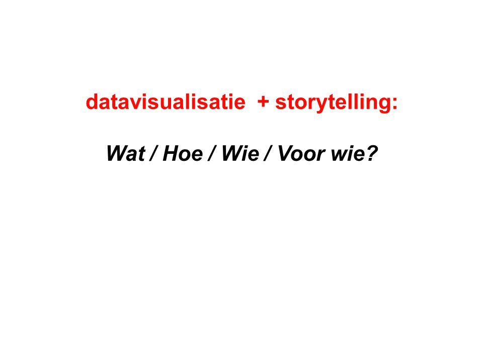 persoonlijke datasets: Selftracking en Datamining twee perspectieven: wie verzamelt de data.