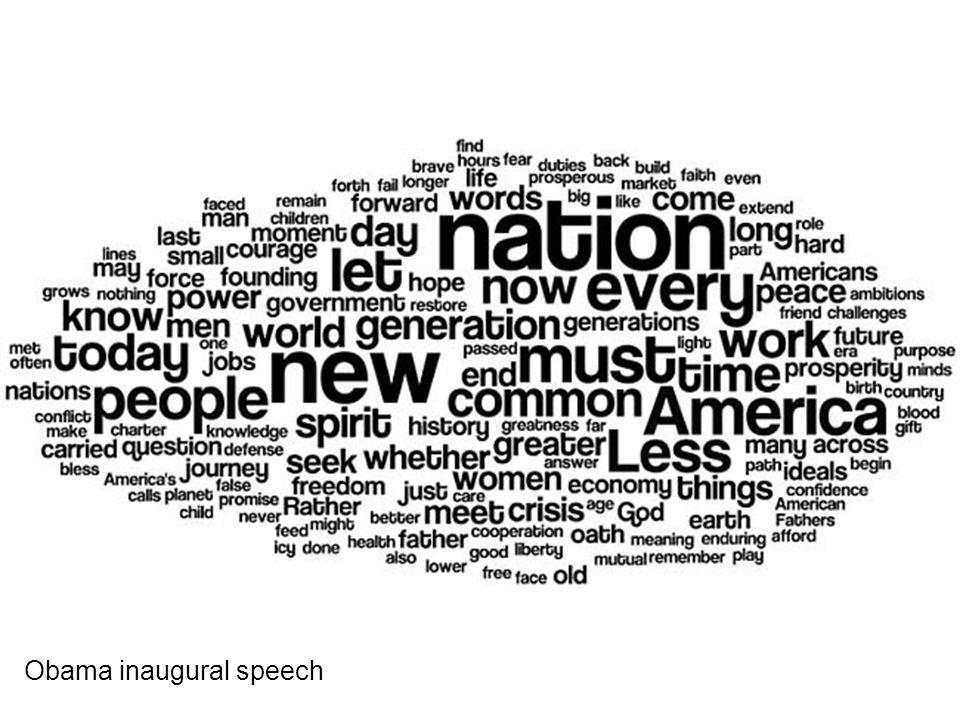 Obama inaugural speech