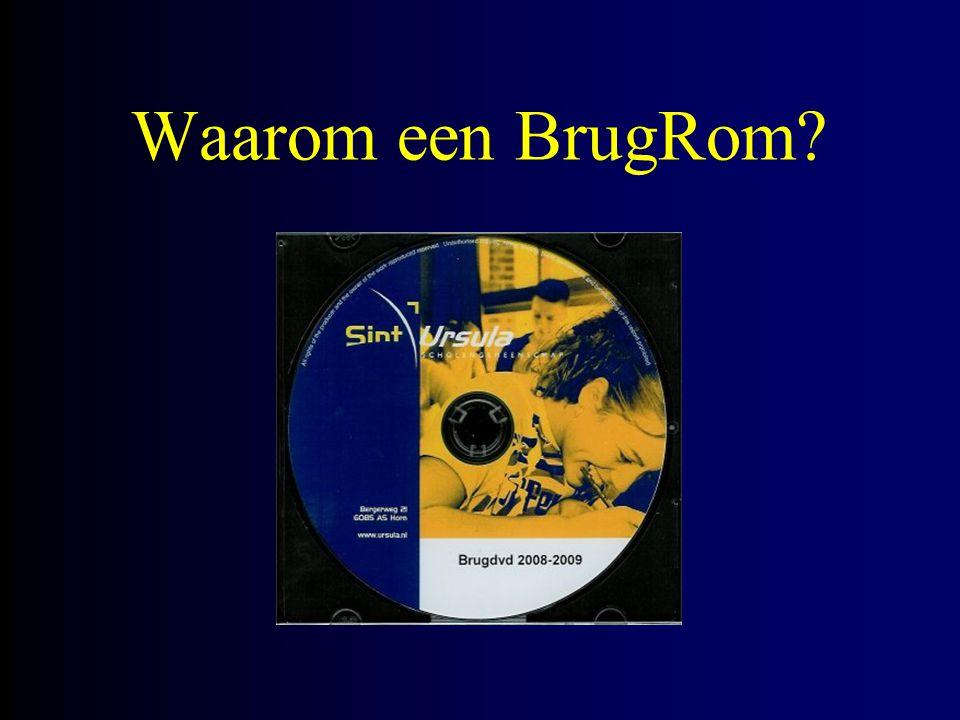 Waarom een BrugRom
