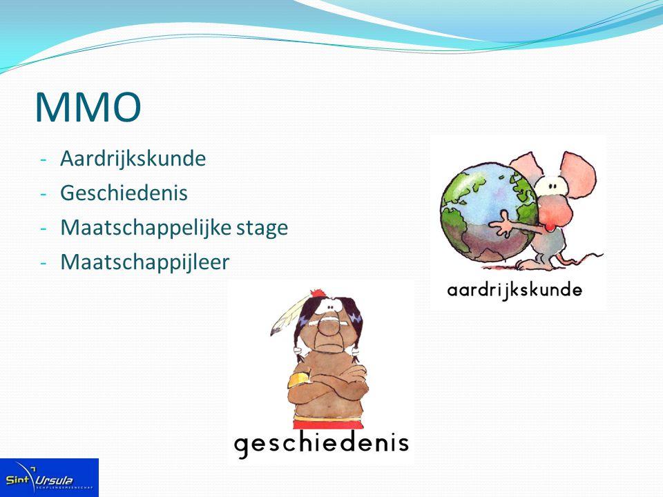 MMO - Aardrijkskunde - Geschiedenis - Maatschappelijke stage - Maatschappijleer