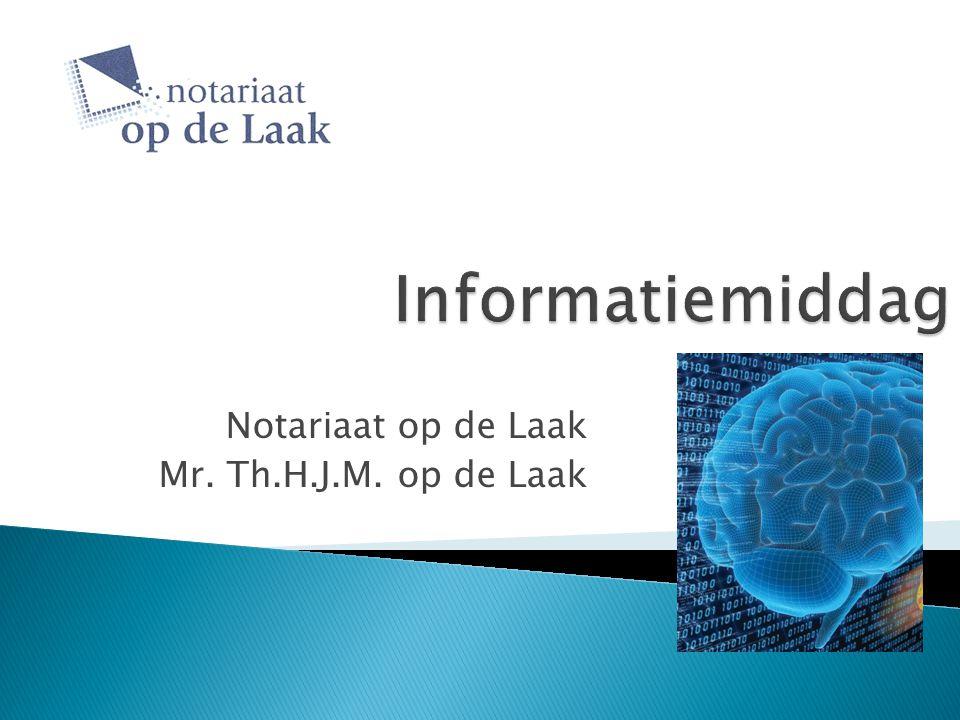 Notariaat op de Laak Mr. Th.H.J.M. op de Laak
