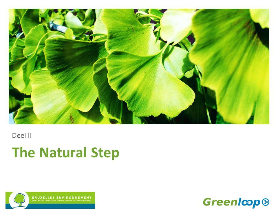 The Natural Step Deel II